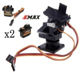 Gimbal  Mount for FPV with 2x EMAX 9g servos
