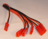 3.7V Li-Po Battery JST Plug 1 to 5 Cable